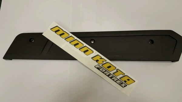 Minn Kota Fortrex sideplate Left w/Decal